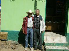 Federico (Lico) Mora (+)  con Silviano . Foto de Emanuel Martínez Campos