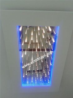 Infinite mirrors in our production (infinite decorations mirrors) (infinite advertising and promotio Mirror Ceiling, Ceiling Decor, Ceiling Beams, Ceiling Lights, Ceilings, House Ceiling Design, Bedroom False Ceiling Design, Infinite Mirror, Panel Led