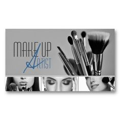 MakeUp Artist, Cosmetologist, Beauty, Salon Business Card