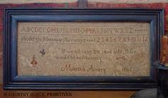 Martha Avery Sampler $7.00