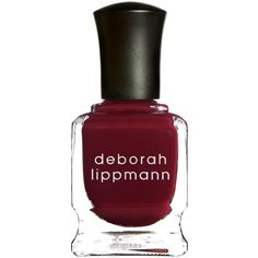 Deborah Lippmann Nail Lacquer ($25) ❤ liked on Polyvore featuring beauty products, nail care, nail polish, nails, nail varnish, nail color, opi nail lacquer and deborah lippmann nail lacquer