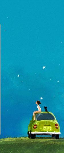 Gazing at the stars..