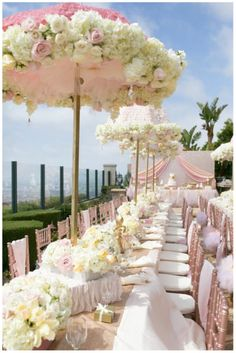 Pretty in Pink Baby Shower (yes, baby shower!)