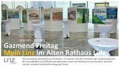 """Gazmend Freitag präsentiert """"Mein Linz"""" im Alten Rathaus Alter, Linz, Friday, Architecture, Landscape"""