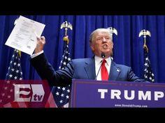 Donald Trump arremete contra los migrantes mexicanos/ Global - YouTube