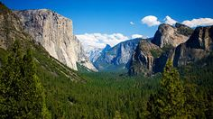 Yosemite National Park, Central California