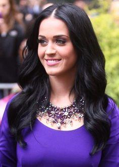 purple eyes and dress