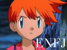 Misty ENFJ | Pokemon #MBTI #ENFJ