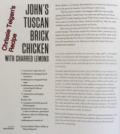 Carl picked this Chrissy Teigen Cookbook, Chrissy Teigen Recipes, Cookbook Recipes, Real Food Recipes, Cooking Recipes, Yummy Food, Turkey Dishes, Turkey Recipes, Chicken Recipes