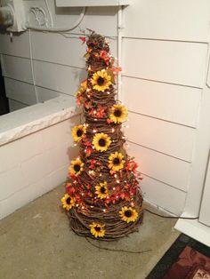 My sunflower grape vine tree!