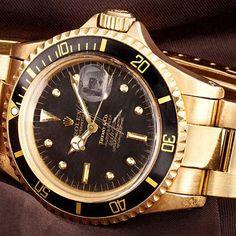 Gold Vintage Rolex Submariner