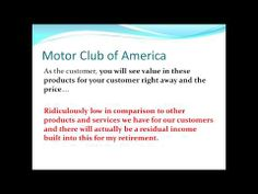 Motor Club of America:Your Online Business - http://business.bruisedonion.com/7321/motor-club-of-americayour-online-business/