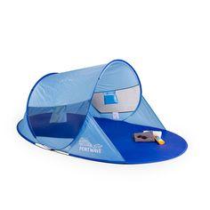 Pop up Strandmuschel Arielle, Portwave, UV-Schutz 60, blau: Amazon.de: Sport & Freizeit