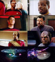 """ ""Let's make sure history never forgets the name Enterprise."" """