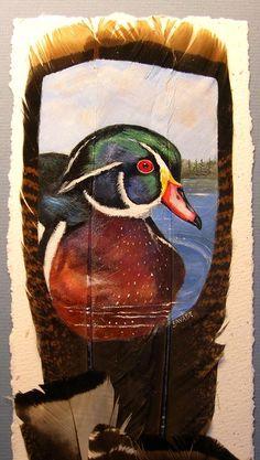 Turkey Feather Art  Canada Goose (Gosling)