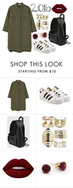 """10.12.2016💋 22:28🌟💕"" by chica1622 ❤ liked on Polyvore featuring MANGO, adidas Originals, Gucci, Boohoo and Lime Crime"