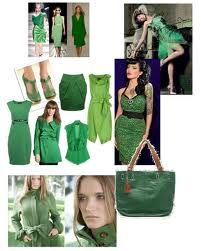Everything looks good in green, no matter what shade (emerald's my favorite)