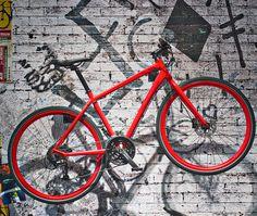 Bike an der Wand Eurobike