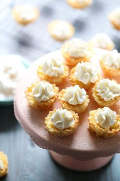 """<p>Mini Orange Tarts with a simple filling and light whipped cream topping are easy and impressive. <a href=""""http://www.lemonsforlulu.com/mini-orange-tarts/"""" target=""""_blank"""">Get the recipe HERE!</a></p>"""