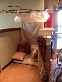 A cute cozy space from Fairy Dust Teaching Kindergarten Blog