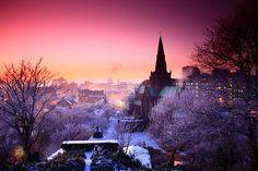 Beautiful view of Glasgow, Scotland!  #glasgow2014 #Scotland #commonwealthgames www.glasgow2014.com