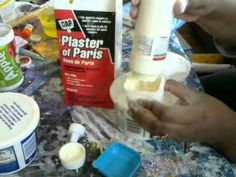 Recipe for Gesso cup plaster of Paris 1 cup acrylic paint , cup of white regular glue Thank you for watching this video. If you enjoyed the video I'd.How to Make Homemade Gesso Tutorial/ DIY Gesso Recipe Plaster Crafts, Plaster Art, How To Make Homemade, Homemade Crafts, Homemade Black, Plaster Of Paris, Texture Paste, Painting Tips, Art Techniques