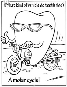 Children's Coloring Pages Dental