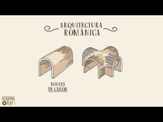 ¿Conoces la diferencia entre bóveda de cañón y bóveda de arista en la arquitectura románica? - YouTube Art History Lessons, Geography, Culture, Architecture, Amazing Things, Leo, Youtube, Sketch, Interior Design