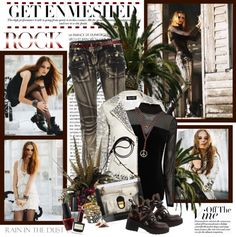 """""""Get enmeshed"""" by helleka ❤ liked on Polyvore"""