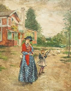 Carl Larsson - Part 2 Spanish Painters, Artist Inspiration, Painter, Landscape Poster, Illustration, Artist, Carl Larsson, Pictures, Scandinavian Art