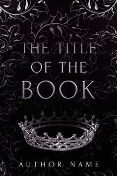 Crown Premade Book Cover - this cover is no longer available