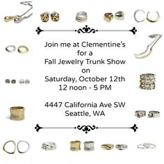 Events - Joanna Morgan Designs at Clementine's