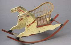 1915 Rocking horse chair National Toy Museum NY
