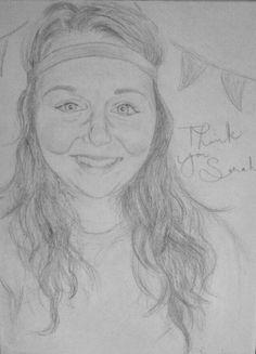 Pencil drawing portrait for a good friend:)