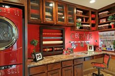 Paseo Lindo - Laundry and Craft Center - traditional - laundry room - phoenix - Cachet Homes