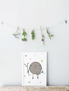 Pluto print - Boys room decor - Cute planet print - Educational prints - Baby boy nursery - Space themed nursery - Planet wall art - Stars by kiwiNberries on Etsy https://www.etsy.com/uk/listing/400958403/pluto-print-boys-room-decor-cute-planet