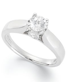 diamond cutout ring in 14k white gold 12 ct tw macyscom rings pinterest white gold ring and diamond - Macy Wedding Rings