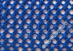 """padrão de tricô: """"quatro tipos de grade oco"""" (Padrão 518) - maomao - I mover seus pés"""