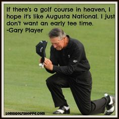 Gary Player : widely regarded as one of the greatest players in the history of golf! #famous #inspiration #lorisgolfshoppe