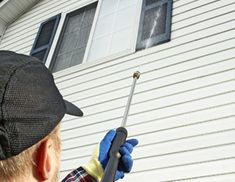 DIY:: How to Pressure Wash Your Home's Exterior stucco - vinyl -brick. Spring cleaning.