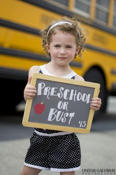 Idea buy chalkboard and put grade, age and date. First day of school picture Back to School Mini Sessions  |  Lindsay Galloway Photography