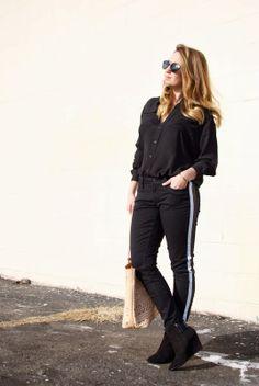 Keep it simple in all black