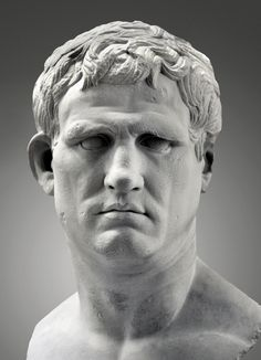(c. 25-24 BCE) Marcus Vipsanius Agrippa - a friend and son-in-law of Emperor Augustus, and his most illustrious general.