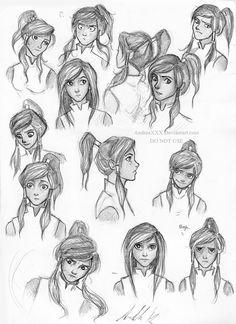 Korra Sketches...