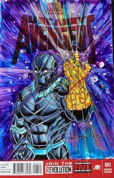 The Infinity Gauntlet, Marvel Comics Art, Venom, Black Panther, Doodle Art, Drawing S, Art Day, Sketching, Avengers