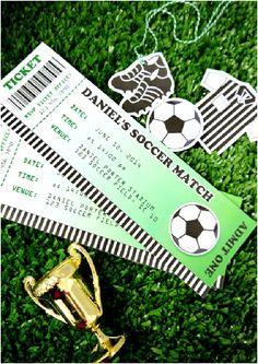 Anniversaire Football - Kit Printables & Décorations à Imprimer