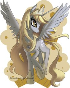MLP FIM: Derpy Princess - Rejected Design by hinoraito.deviantart.com