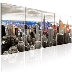 Quadri New York   QuadriperArredare.it Banksy, Art Rose, Tower Block, Willis Tower, New York Skyline, Images, Abstract, Building, Artwork