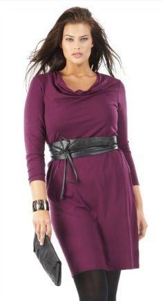 Une jolie robe grande taille à col bénitier, parfaite pour être chic au quotidien! Disponible du 44 au 52 pour 20,99€ chez @Scarlett