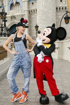Spotted: Gwen Stefani Rocks Her Disney Style at Walt Disney World